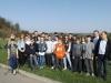 Zwiedzanie oczyszczalni przez klasę z SP z Tuchowa