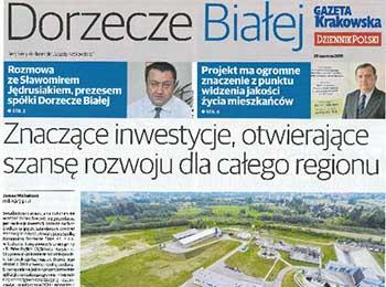 Artykuł Gazeta Krakowska