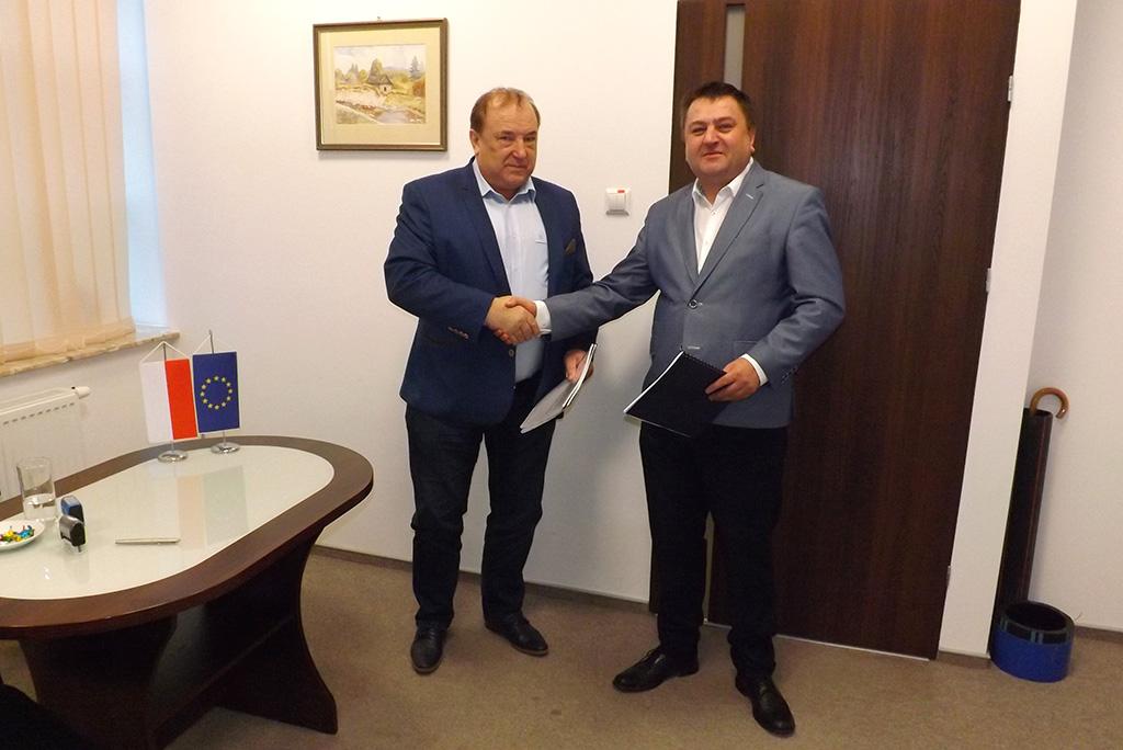 Podpisanie umowy z wykonawcą robót