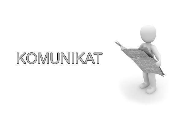 komunikat info