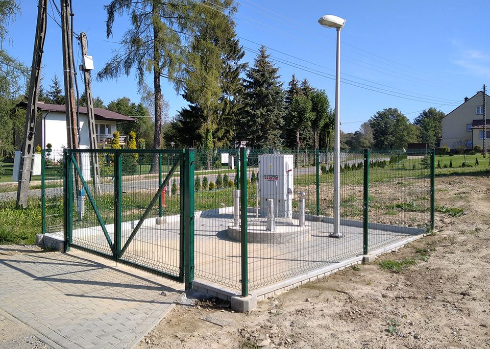 Budowa Lubcza i Wola Lubecka