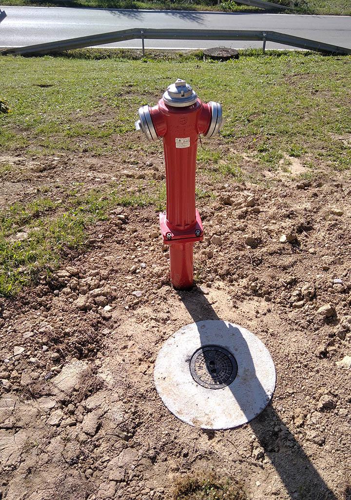 ul. Spacerowa - hydrant
