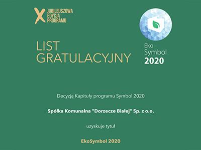 Eko Symbol 2020